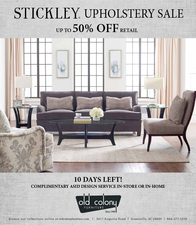 Stickley Upholstery March18 Web Old Colony Furniture